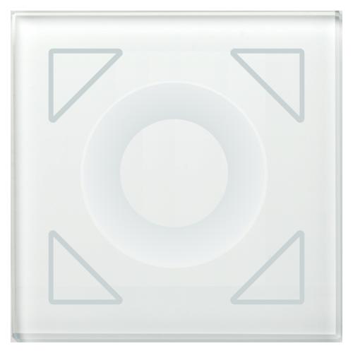 MDT Tryckknapp Dimming sensor Glas 4-kn Vit
