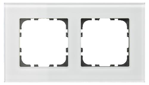 MDT Kombinationsram 2-fack 55x55 Vit glas