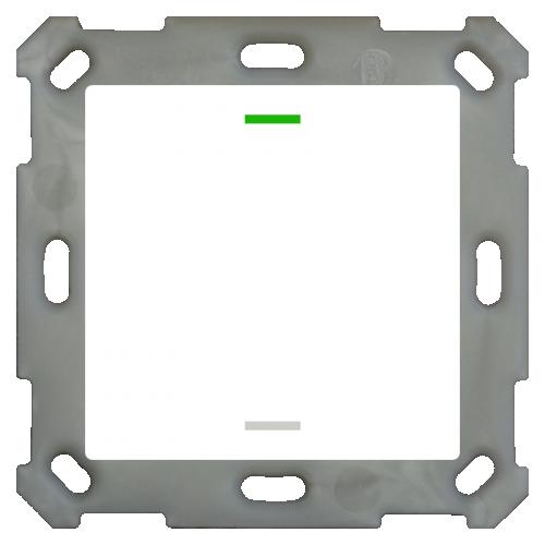 MDT Push Button Lite 55 2kn Neut Vit blank