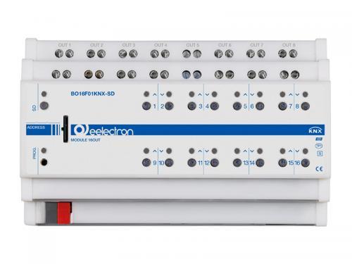 eelectron Brytaktor 16-kan / 8-kan Jalusi +SD