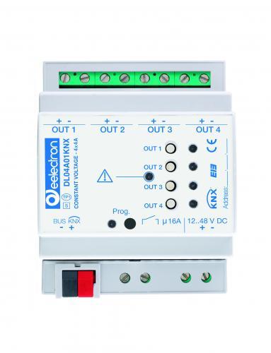 eelectron Dimmeraktor 4-kan LED Lågvoltsdimmer