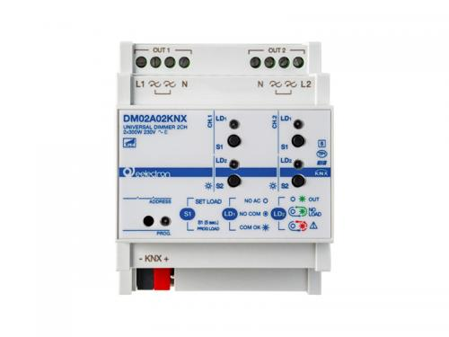 eelectron KNX Dimmeraktor 2-kan 300W/100W LED