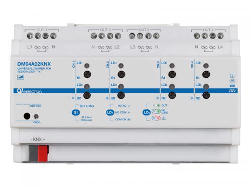 eelectron KNX Dimmeraktor 4-kan 300W/100W LED