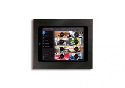eelectron Väggstation infälld iPad Mini 2, iPad Mini 4 Svart Metall