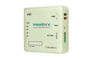 IntesisBox KNX/Fujitstu AC GW VRF (RAC,VRF) + 4IN