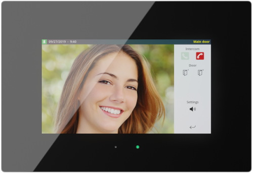 """iddero HC3 Touchskärm 7"""" Svart  Glas (E-C557)"""