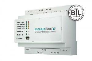 IntesisBox KNX/BACnet Server IP & MS/TP GW 250 dpt