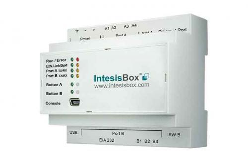 IntesisBox KNX/Hitachi AC GW Com (PAC,VRF) 64 enh