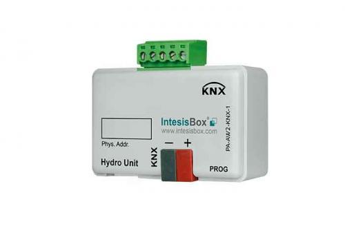 IntesisBox KNX/Panasonic GW Luft/Vat Aquarea (A2W)