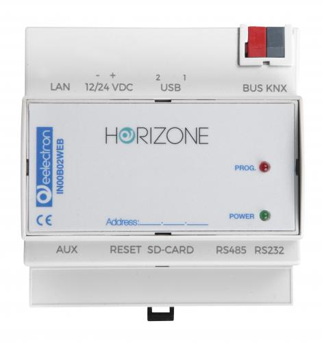 eelectron Horizone Webserver 200 KNX datapunkter