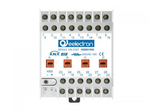 eelectron Brytaktor 4-kan+4IN - C-last