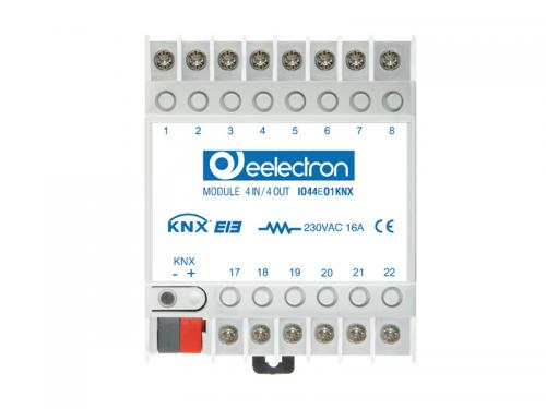 eelectron Brytaktor 4-kan+4IN / 2-kan Jalusi