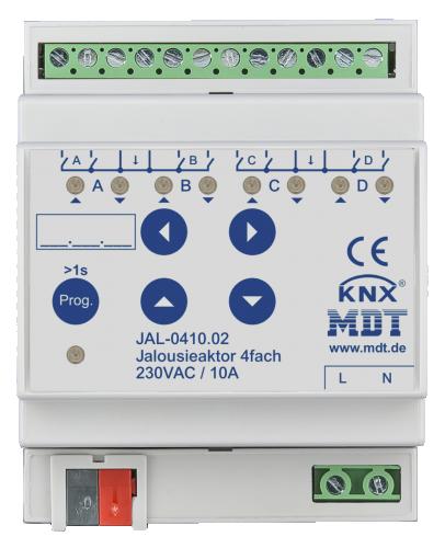 MDT Jalusiaktor 4-kan 230V