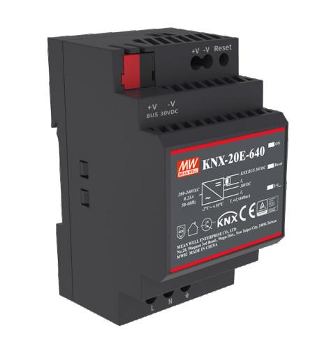 Meanwell Spänningsförs KNX 640mA + 30V