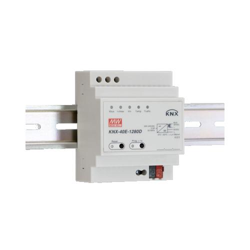 Meanwell Spänningsförs KNX 1280mA + 30V diagnostik