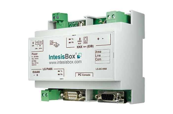 IntesisBox KNX/LG AC GW (RAC,PAC,VRF) 64 enh
