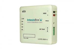 IntesisBox KNX/LG AC GW Com, VRF (PAC,VRF) +4IN