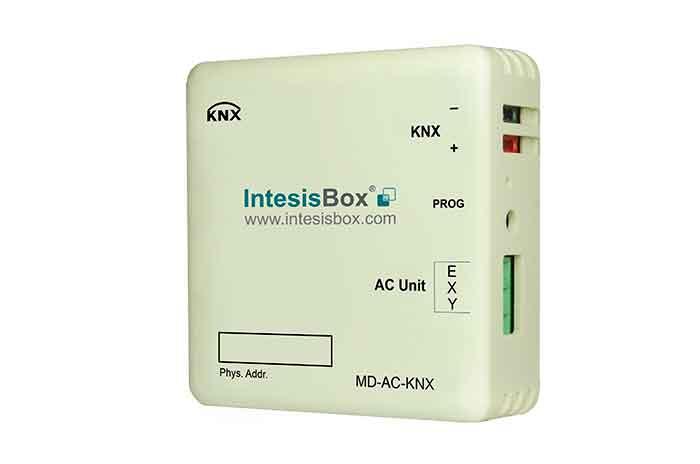 IntesisBox KNX/Midea AC GW Com VRF(PAC,VRF) 16 enh