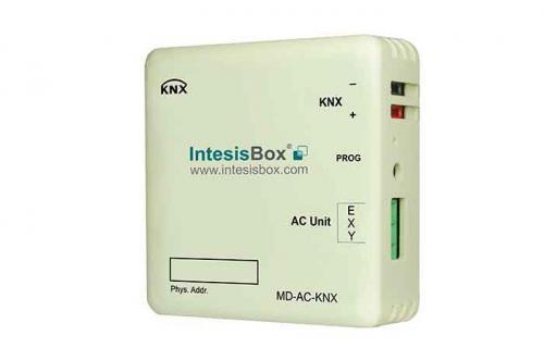 IntesisBox KNX/Midea AC GW Com VRF(PAC,VRF) 64 enh