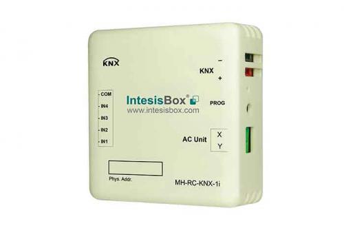 IntesisBox KNX/Mitsub. HI AC GW (RAC,PAC,VRF) +4IN