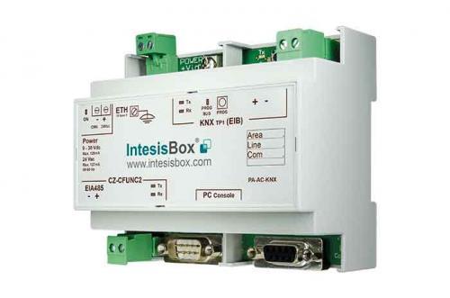 IntesisBox KNX/Panasonic AC GW (PAC, VRF) 128 enh