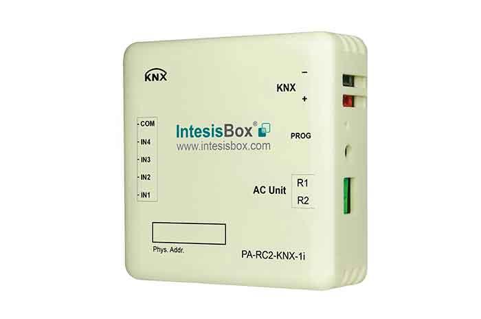 IntesisBox KNX/Panasonic AC GW ECOi (PAC,VRF) +4IN