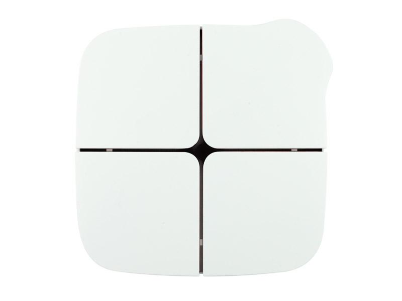 eelectron HomePad 4-kn Vit/Svart + temp + 4IN