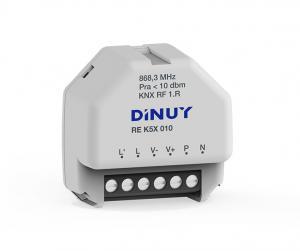 DINUY RF Dimmeraktor / Analogaktor 1-kan 1-10V