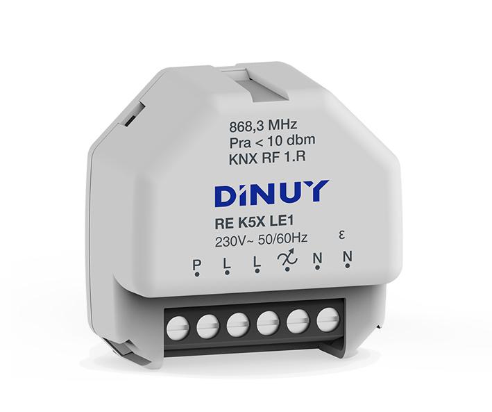 DINUY RF Dimmeraktor 1-kan 250W RLC + LED