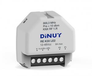 DINUY RF Dimmeraktor 1-kan LED-stripes 12-48V