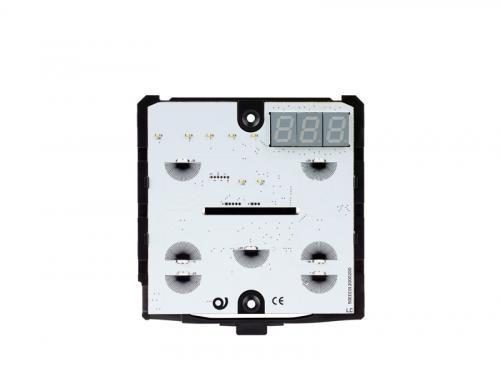 eelectron 9025 Busskopplare Termostat/Hygrostat Svart