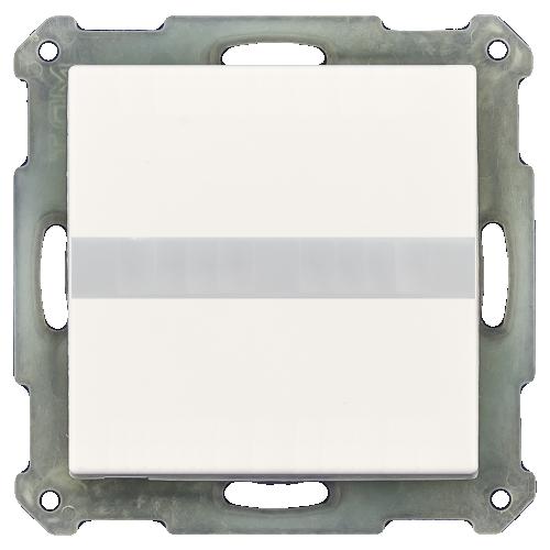 MDT Rörelsedetektor 55x55 Vit blank