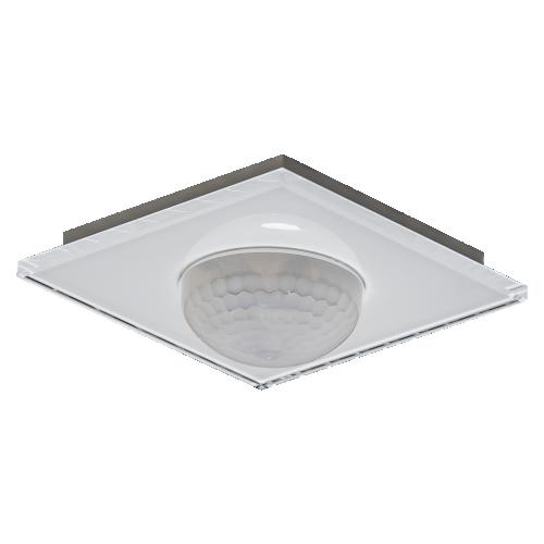 MDT Närvarodetektor 360gr Infälld Vit glas + temp, konstantljus