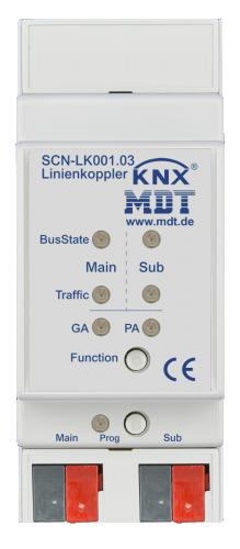 MDT Linje-Områdeskopplare KNS Secure