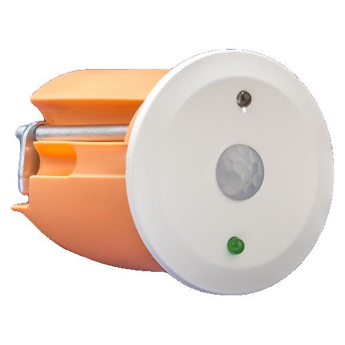 MDT Närvarodetektor 360gr Infälld MINI Vit matt