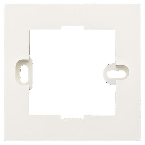 MDT Montageram Slimline för x3.01 3-sens Vit matt