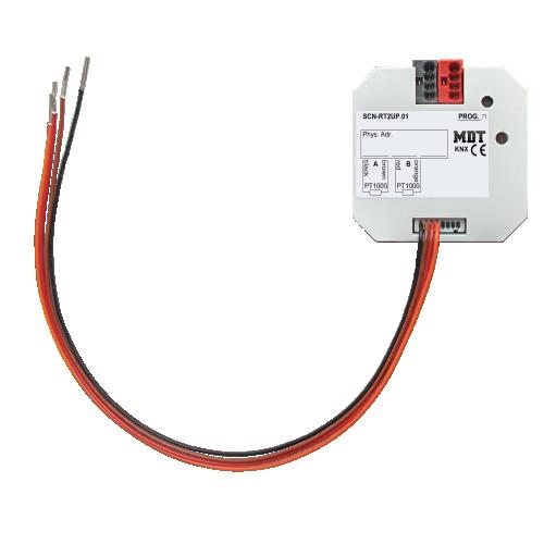 MDT Temperaturregulator 2-kan PT1000 Dosmontage