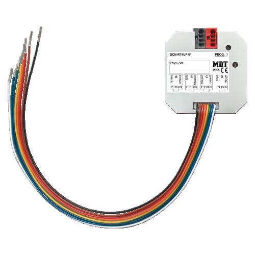 MDT Temperaturregulator 4-kan PT1000 Dosmontage
