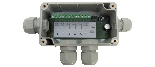 MDT Temperaturregulator 6-kan PT1000 Dosmontage