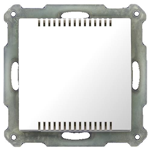 MDT Temperatursensor 55x55 Vit blank
