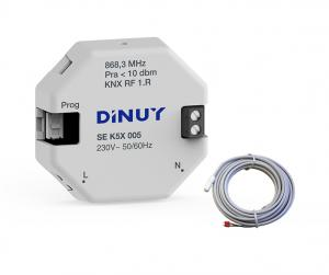 DINUY RF Temperatursensor 230V + Tempprob