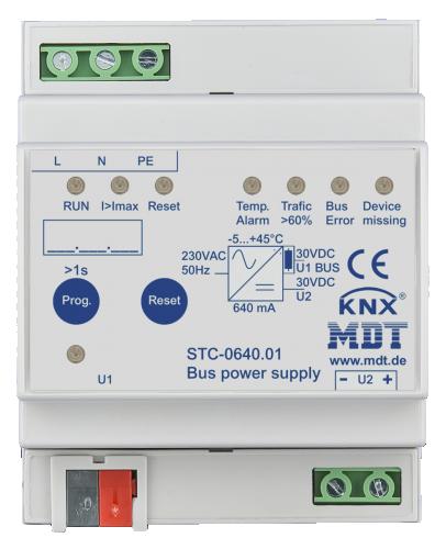 MDT Strömförsörjning 640mA STC diagnostik