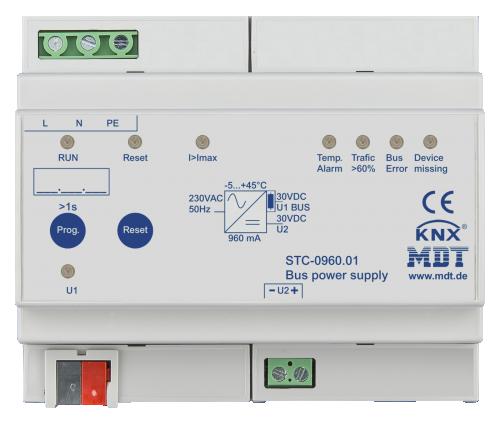 MDT Strömförsörjning 960mA STC diagnostik