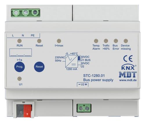 MDT Strömförsörjning 1280mA STC diagnostik