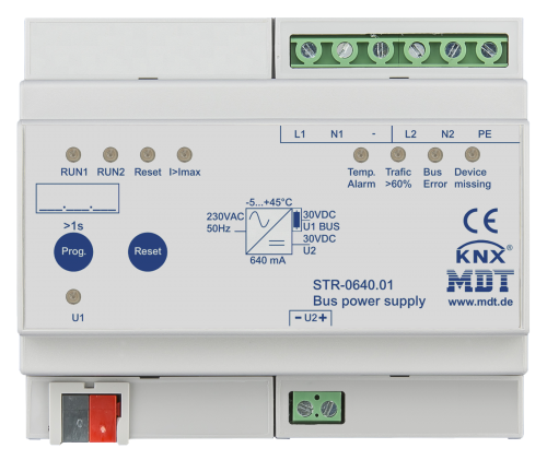 MDT Strömförsörjning 640mA STR diagnostik redund.