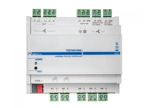 eelectron KNX Fancoilaktor 3x 0-10V / 3x Relä +5IN