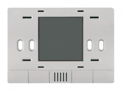 eelectron Hotellrum HVAC Termostat utan montageram Total Silver