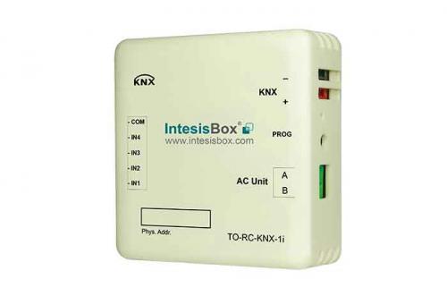 IntesisBox KNX/Toshiba AC GW Com (PAC, VRF) +4IN