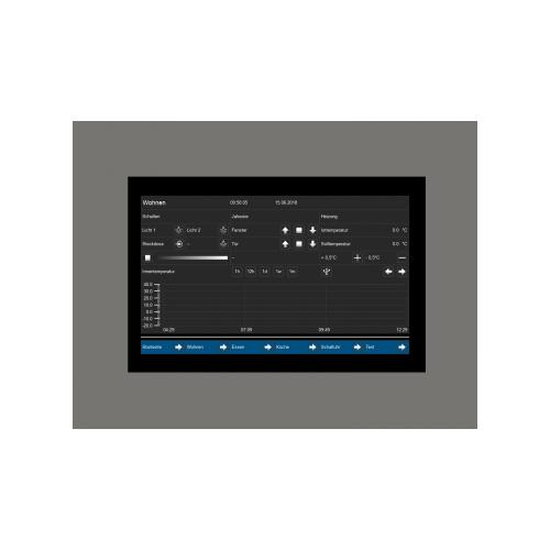 MDT Touchskärm Visucontrol 7-tum Infälld