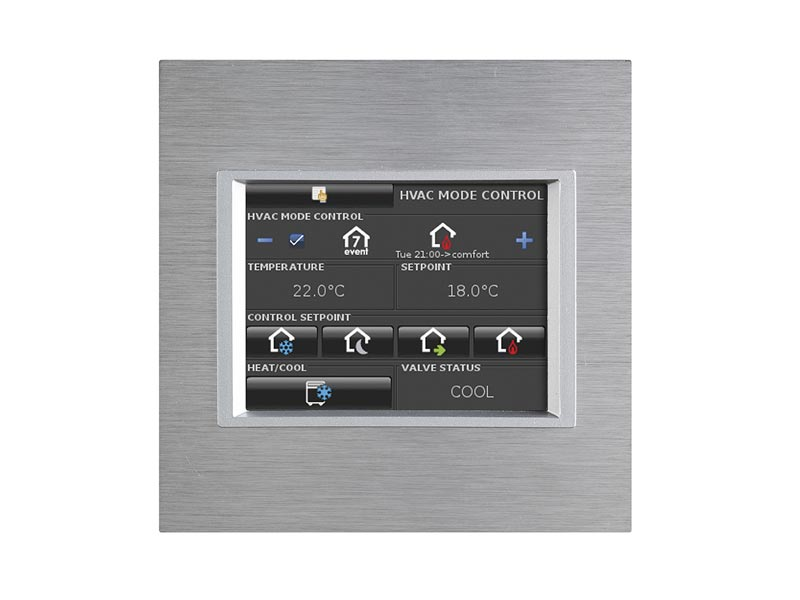 """eelectron 3025 3,5"""" Touchskärm Square Metall"""